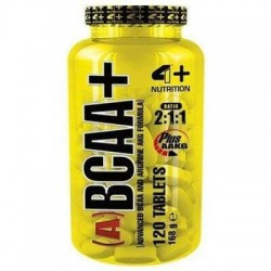 4 Plus Nutrition (A) BCAA 2:1:1 + AAKG 120 tabs.