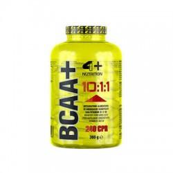 4+ Nutrition BCAA + 10:1:1 240 tabs.