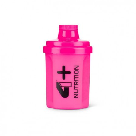 4 Plus Nutrition Shaker Pink 300 ml.