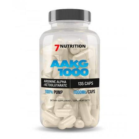 7 Nutrition AAKG 1000 135 caps.
