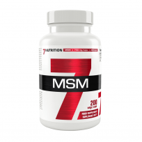 7 Nutrition MSM 200 caps.