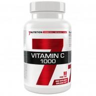 7 Nutrition Vitamin C 1000 90 veg caps.