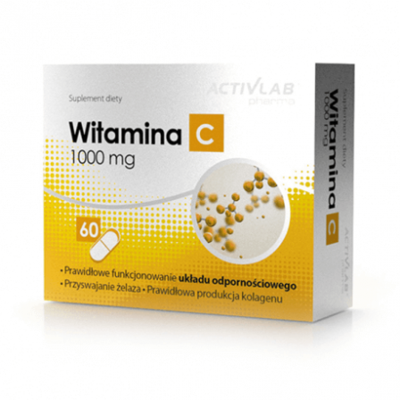 Activlab Pharma Vitamin C 1000mg 60 caps.