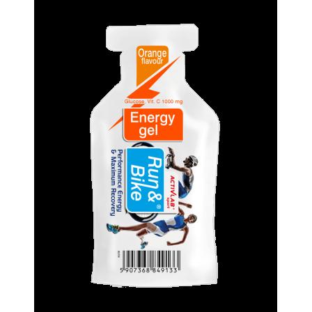 ActivLab Run and Bike Energy Gel 40 gr.