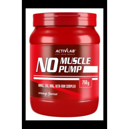 Activlab No Muscle Pump 750 gr.