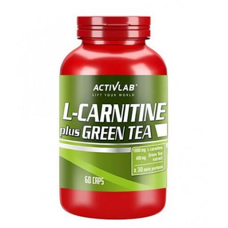 Activlab L-Carnitine Plus Green Tea 60 caps.