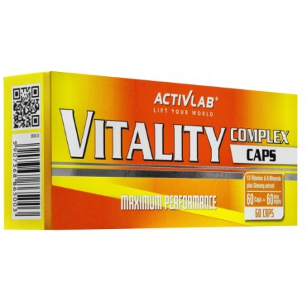 Activlab Vitality Complex 60 tabs.