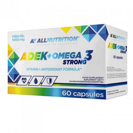 Allnutrition ADEK + Omega 3 Strong 60 caps.