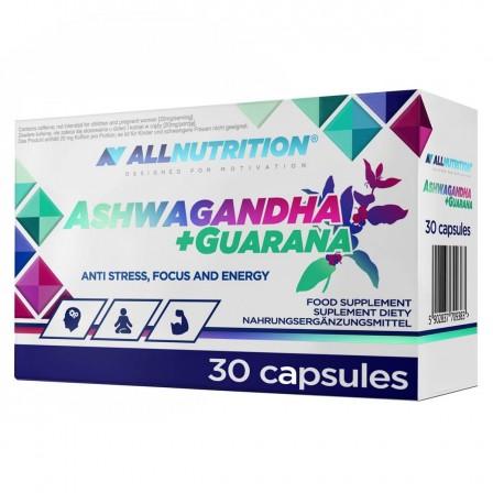 Allnutrition Ashwagandha + Guarana 30 caps.