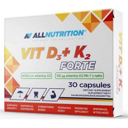 Allnutrition Vit D3 + K2 Forte 30 caps.