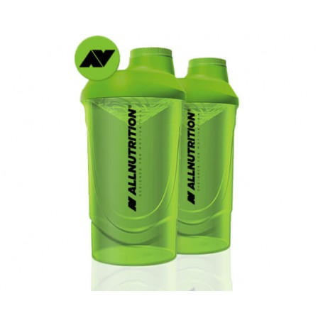 Allnutrition Shaker Wave Grass Green 600ml.