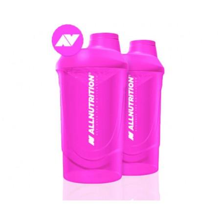 Allnutrition Shaker Wave Pink 600ml.