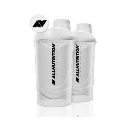 Allnutrition Shaker Wave White 600ml.