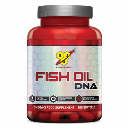 BSN Fish Oil DNA 100 caps.