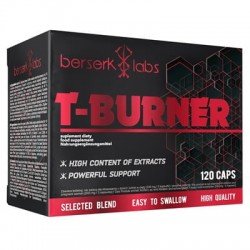 Berserk Labs T-burner 120 caps.