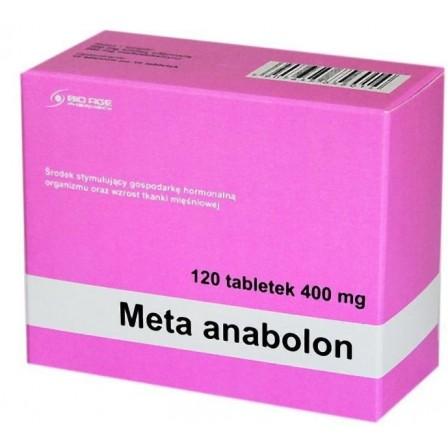Bio Age Pharmacy Meta Anabolon 120 tabs.