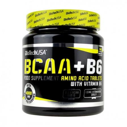BioTech USA BCAA + B6 340 tabs.
