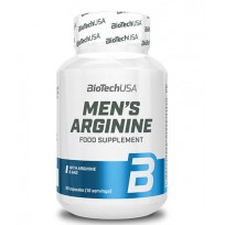 BioTech USA Men's Arginine 90 caps.