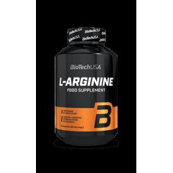 BioTech USA L-Arginine 90 caps.