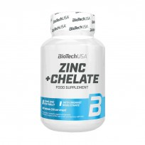 BioTech USA Zinc + Chelate 60 tabs.