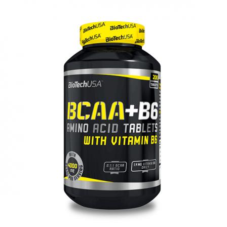 BioTech USA BCAA + B6 200 tabs.