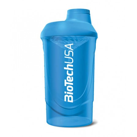 BioTech Wava Shaker Blue 600ml.