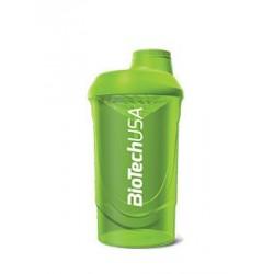 BioTech Wava Shaker Green 600ml.