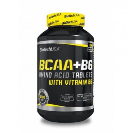 BioTech USA BCAA + B6 100 tabs.