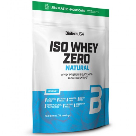 BioTech USA Iso Whey Zero Natural 1800 gr.