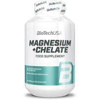 Biotech USA Magnesium+Chelate 60 caps.
