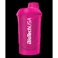 BioTech Wava Shaker Pink 600ml.