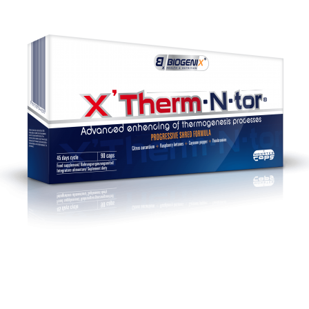 Biogeix XTherm-N-tor ® 90 caps.