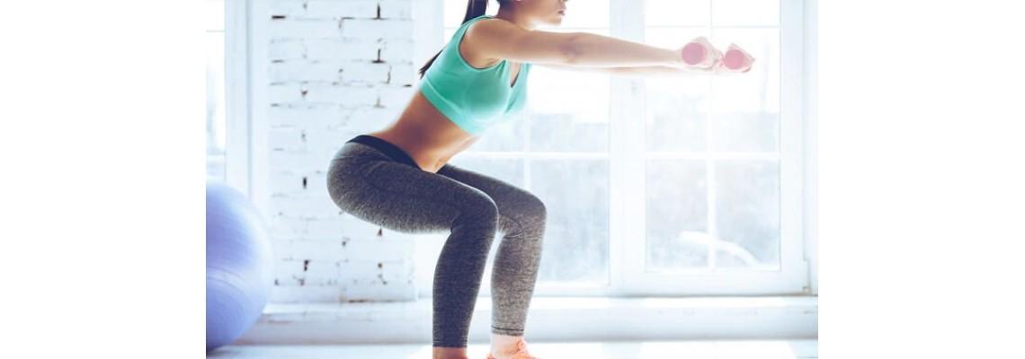 Тренировка за долна част на тялото с акцент върху дупето