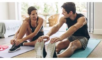 Тренировка за горна част на тялото в домашни условия