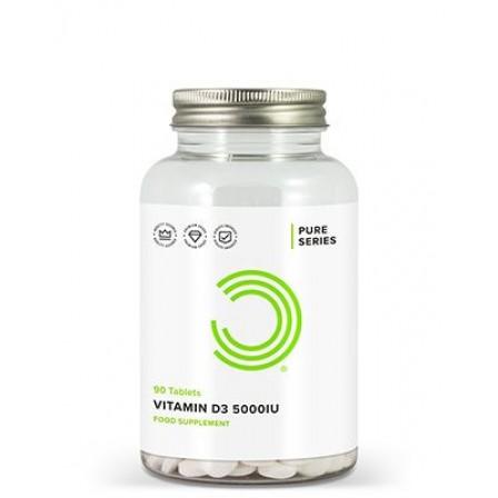 Bulk Powders Vitamin D 3 5000 IU 90 tabs.