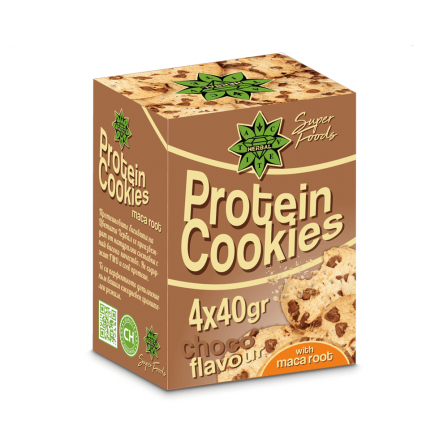 Cvetita Herbal Protein Cookies 4 x 40 gr.