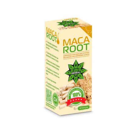 Cvetita Herbal Maca Root 80 caps.