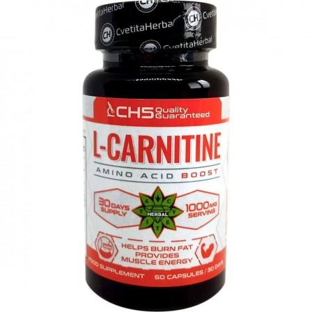 Cvetita Herbal L-Carnitine 1000 mg 60 caps.