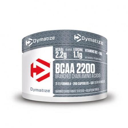 Dymatize BCAA 2200 200 caps.
