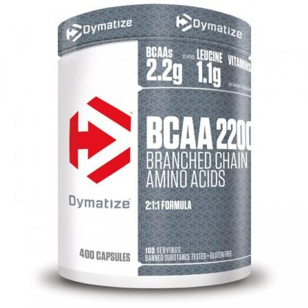 Dymatize BCAA 2200 400 caps.
