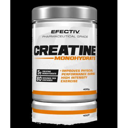 Efectiv Sports Nutrition Creatine Monohydrate 400 gr.