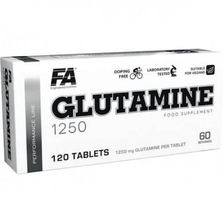 FA Nutrition Glutamine 1250 120 tabs.