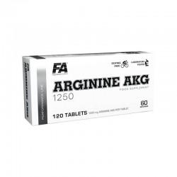 FA Nutrition Arginine AKG 120 tabs.