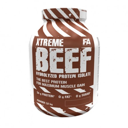 FA Nutrition Xtreme BEEF Hydrolyzed Protein Isolate 1800 gr.