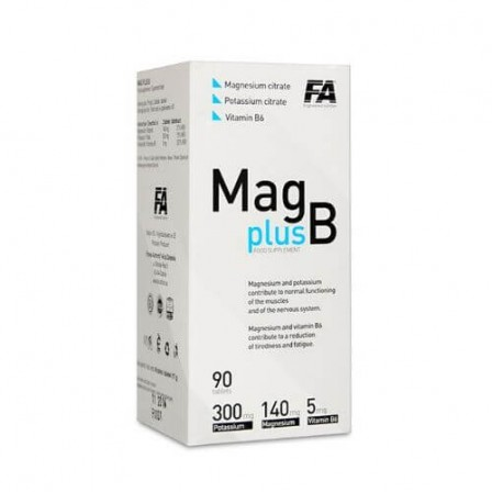 FA Nutrition MAG PLUS B 90 tab.