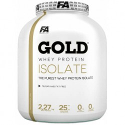 FA Nutrition Gold Whey Protein Isolate 2270 gr.