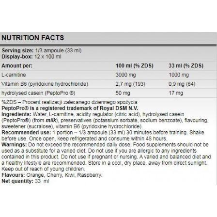 FA Nutrition L-Carnitine 3000 100 ml.