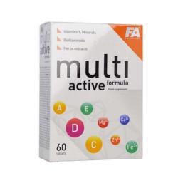 FA Nutrition Multi Active Formula 60 tabs.