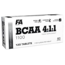 FA Nutrition BCAA 4:1:1 1100 120 tabs.