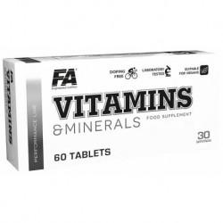 FA Nutrition Vitamins & Minerals 60 tab.